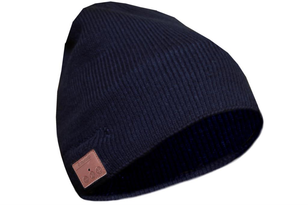 SUNEN Glovii - Bluetooth čepičku, velikost UNI, černá