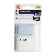 Allsop Čistící utěrka+sprej pro iPad,Tablet,ebook