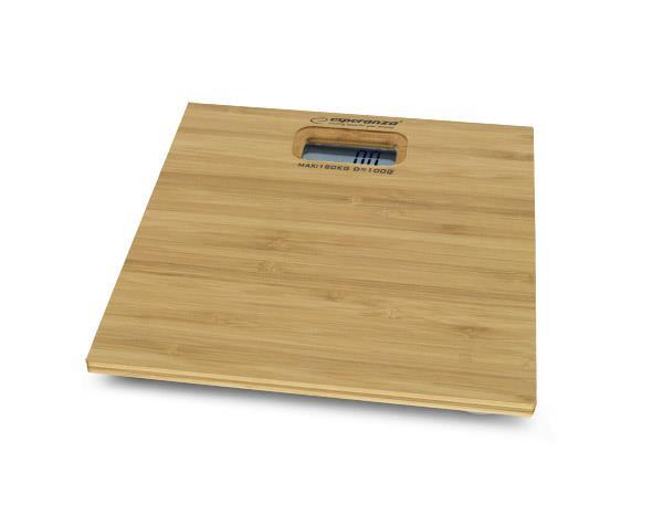 Esperanza EBS012 BAMBOO osobní digitální váha, vzor bambus