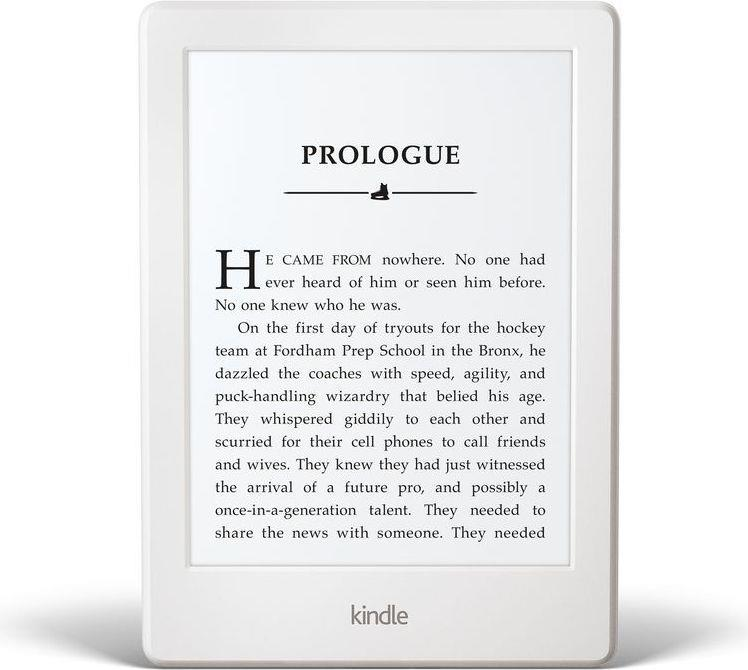 Amazon Kindle Paperwhite 3 2016, 6'' E-ink, 4GB, WiFi, SPONZOROVANÁ VERZE, bílý