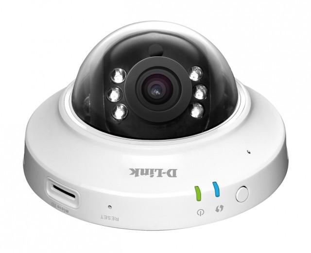 D-Link DCS-6004L HD PoE Dome Cloud Camera
