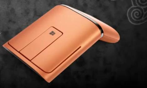 Lenovo Idea myš Wireless DUAL MODE WL Touch Mouse N700 Orange = oranžová