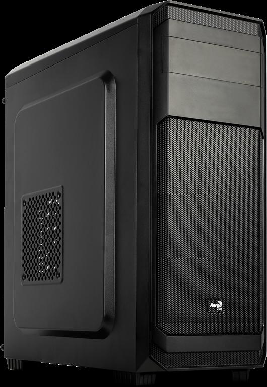 PC skříň Aerocool ATX AERO-300 BLACK, USB 3.0, bez zdroje