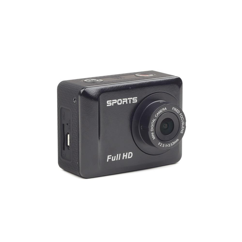 Gembird Full HD action camera s voděodolným pouzdrem