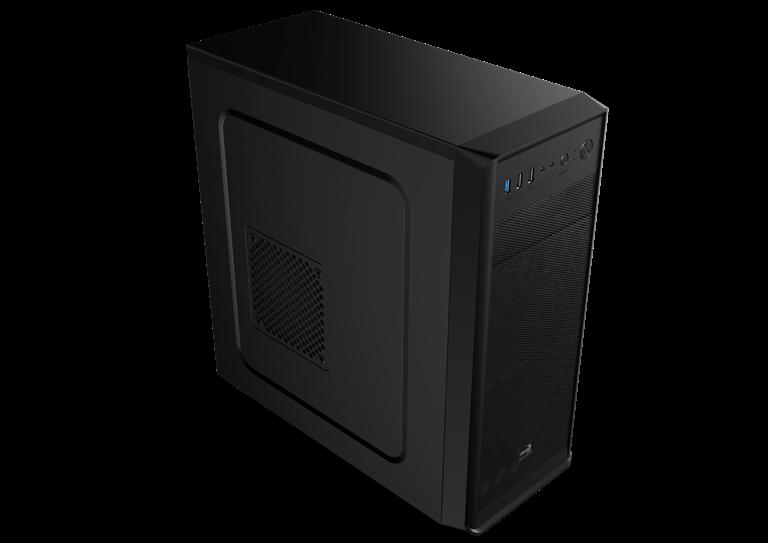 PC skříň Aerocool ATX SI 5100 BLACK, USB 3.0, bez zdroje