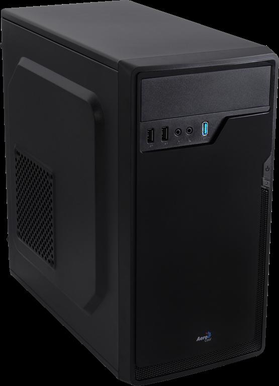 PC skříň Aerocool Micro-ATX PGS CS-100 ADVANCE BLACK, USB 3.0, bez zdroje