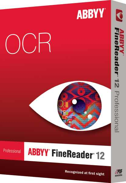 ABBYY FineReader 12 Professional / BOX / UPGR / CZE