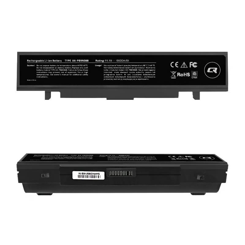 Qoltec Long Life baterie pro notebooky - SAMSUNG R580, 11.1 V   6600 mAh