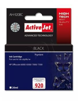 Ink ActiveJet AH-920BC | black | 20 ml | HP HP 920 CD971AE
