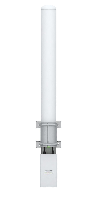 Ubiquiti AMO-2G10 2.4GHz Next-Gen 2x2 Dual Polarity MIMO Omni Antenna, 10 dBi