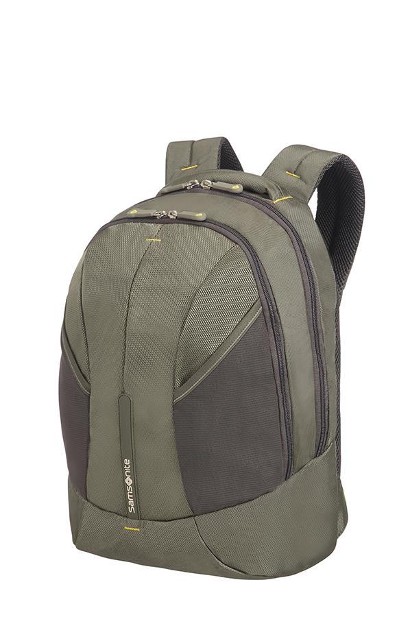 Backpack S SAMSONITE 37N04001 4MATION tblt, doc. pock, keys, olive/yellow