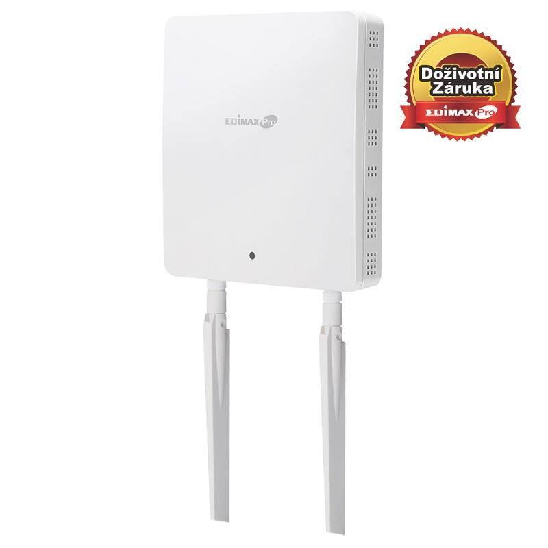 Edimax Long Range AC1200 2X2 Dual band wall mount PoE AP, 2x LAN Gbit