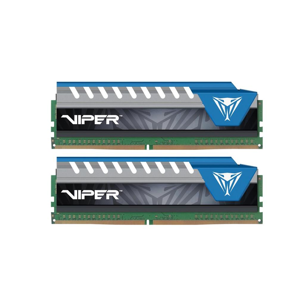 Patriot Viper Elite Series DDR4 16GB (2 x 8GB) 2666MHz Kit, modrá