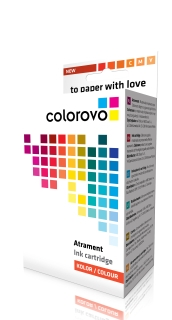 Inkoust COLOROVO 1100-Y | Yellow | 460 ks. | Brother LC980Y,LC1100Y