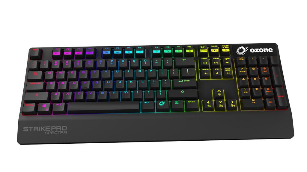 OZONE STRIKE PRO SPECTRA RGB US CHERRY MX RED Keyboard