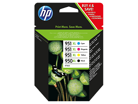 HP C2P43AE Ink Cart No.950XL+951XL CMYK, (CN045AE-48)
