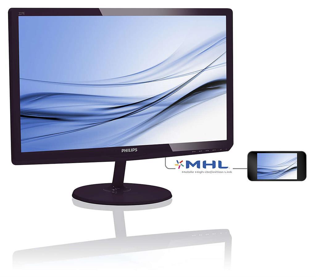 Philips LCD 227E6EDSD/00 21,5'' LED, IPS, 5ms, DC20mil, VGA,DVI,HDMI, 1920x1080