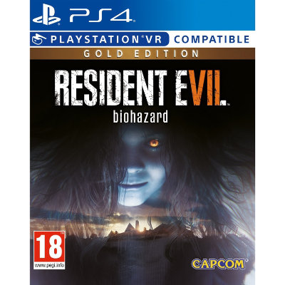 PS4 - Resident Evil 7: Biohazard Gold Edition VR