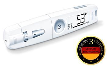 Souprava na měření cukru Beurer GL 50 bílá