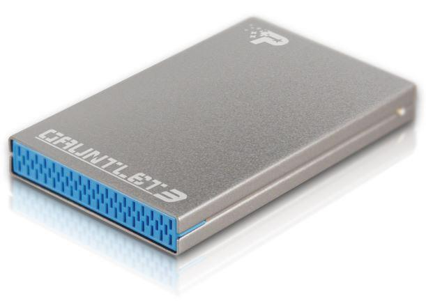 Patriot Guantlet 3- externí hliníkový box na SSD i HDD SATA 2.5'', USB 3.0