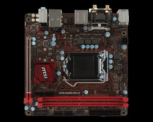 MSI H270I GAMING PRO AC, LGA1151, 2xDDR4, 1xM.2, 4xSATA3