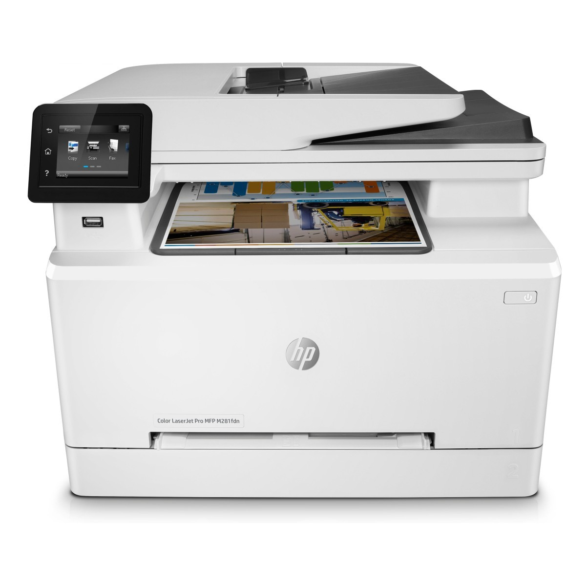 HP Color LaserJet Pro MFP M281fdn (A4, 21 ppm, USB 2.0, Ethernet, Print/Scan/Copy/fax, Duplex)