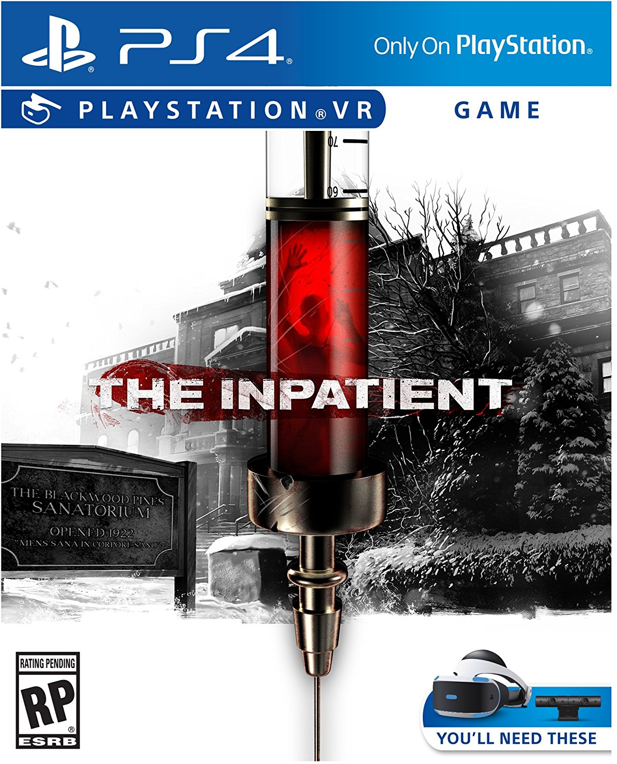 SONY PS4 hra The Inpatient VR