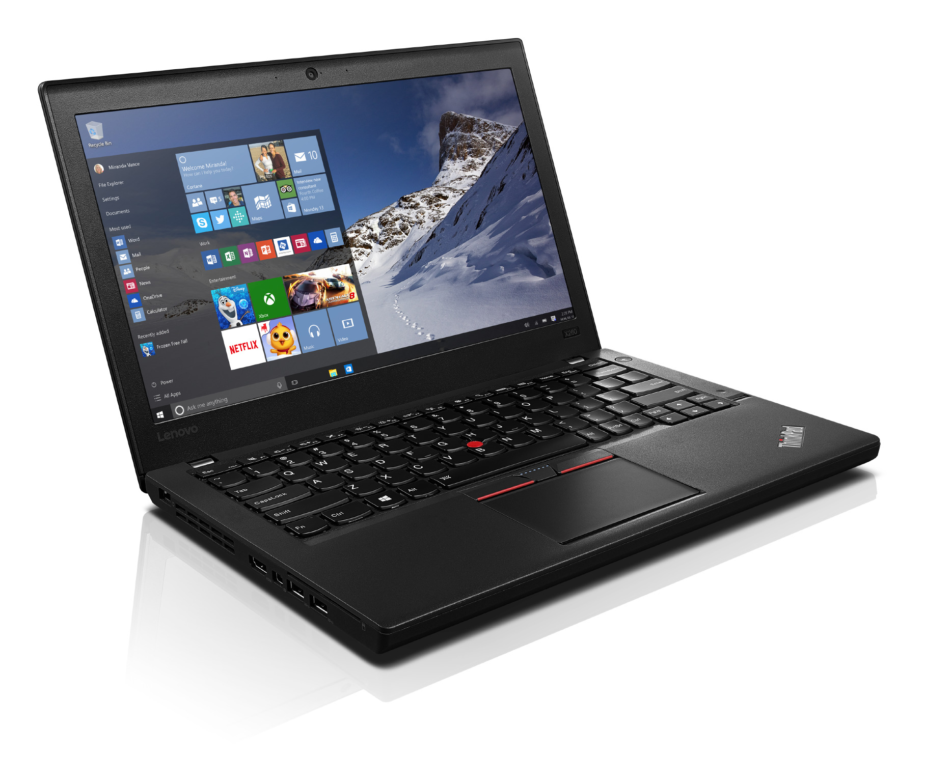 "Lenovo TP X260 12.5""FHD/i5-6300U/8G/180SSD/W10DG"