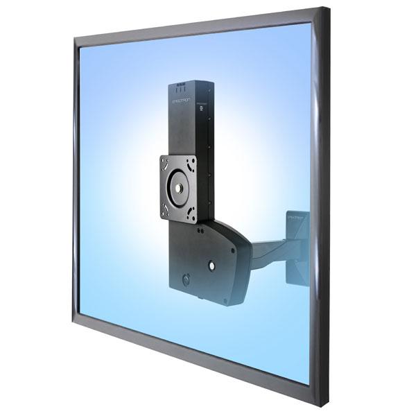 """ERGOTRON GLIDE LD, WITH ARM, velmi flexibilní držák obrazovky na zeď až 42"""""""