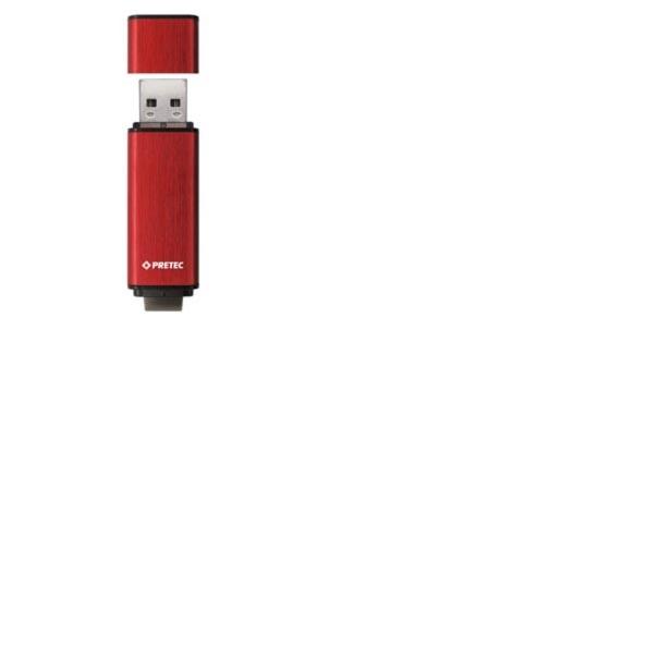 Pretec i-Disk Rex130 USB3.0 - 32 GB (100/40 MB/s), červený