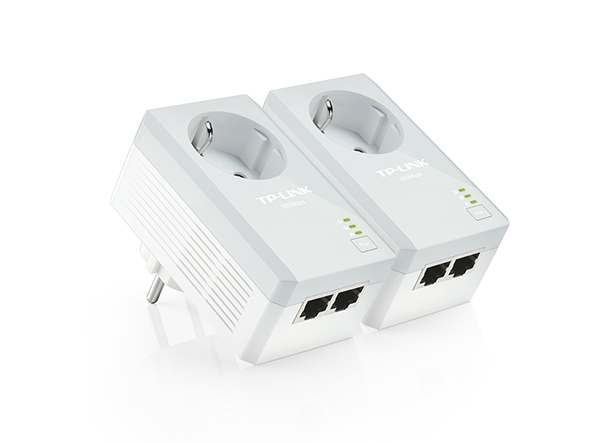 TP-Link TL-PA4020P 600Mbps Powerline Starter Kit