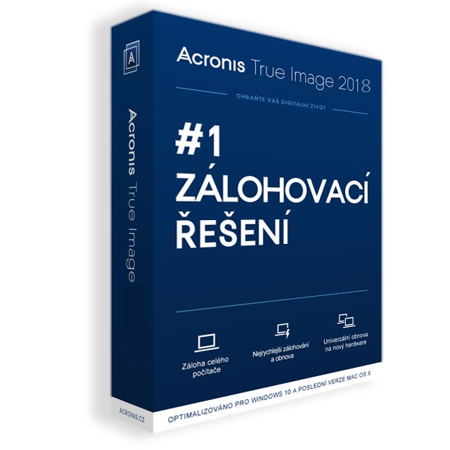 Acronis True Image 2018 - 5 Computers