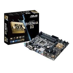 ASUS B150M-A D3 soc.1151 B150 DDR3 mATX 1xPCIe USB3 GL iG D-Sub DVI HDMI