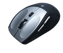 CONNECT IT bluetooth laserová myš MB2000, černo-stříbrná