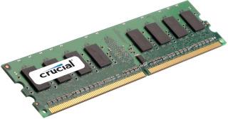 Crucial 2GB 800MHz DDR2 CL6 UDIMM 1.8V