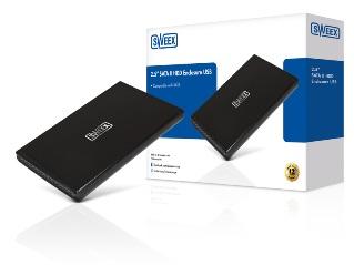 Externí box Sweex 2,5''; SATA II; USB 2.0