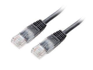 Equip patch kabel U/UTP Cat. 5E 1m černý