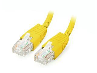 Equip patch kabel U/UTP Cat. 5E, 1m, žlutý
