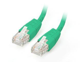 Equip patch kabel U/UTP Cat. 5E, 1m, zelený