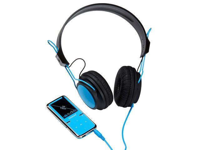 Intenso MP4 player 8GB Video Scooter LCD 1,8'' Blue + Headphones
