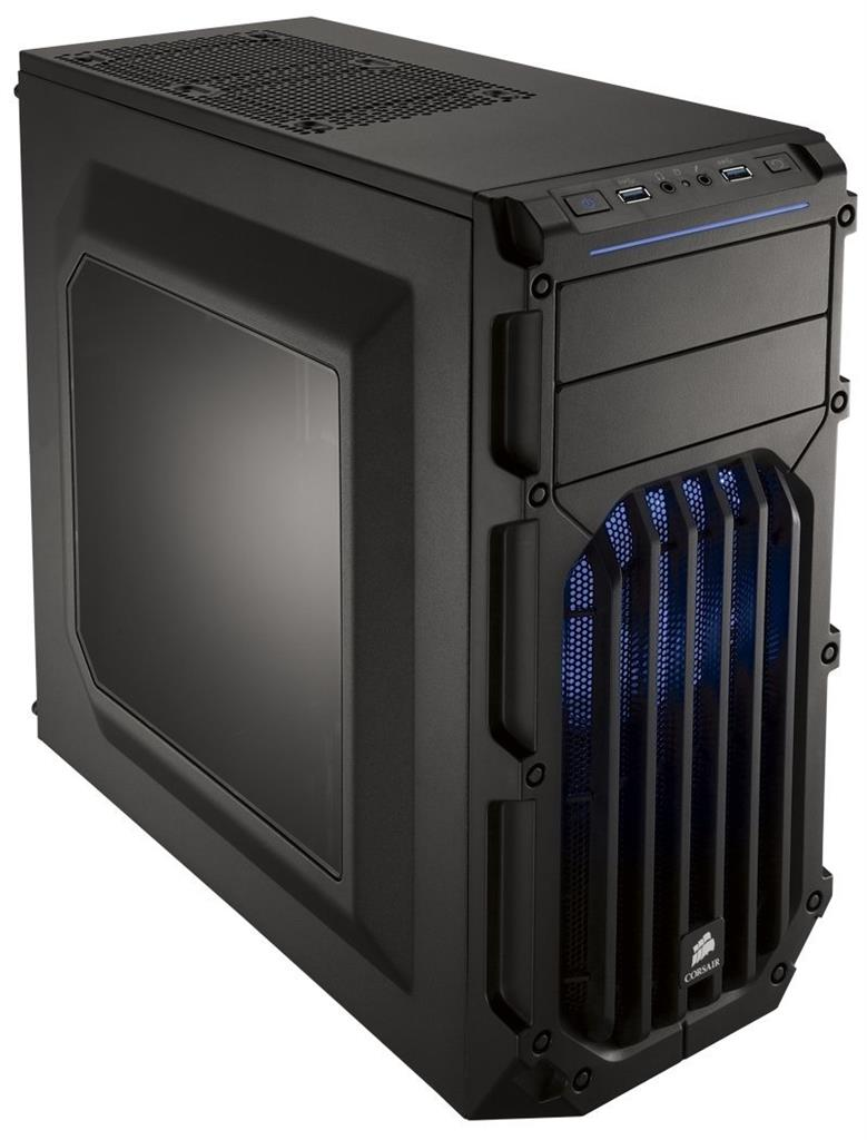 Corsair PC skříň Carbide Series™ SPEC-03 BLUE LED Mid Tower Gaming, větrák 120mm