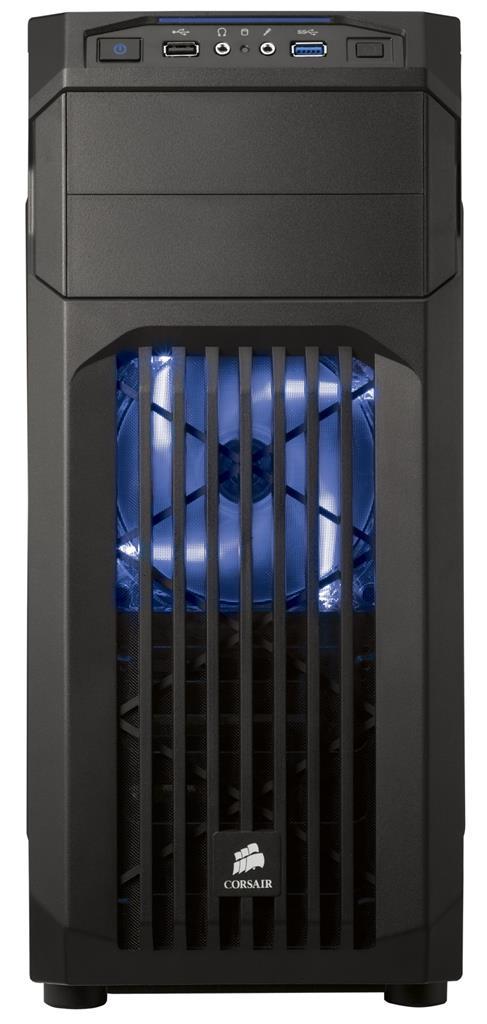 Corsair PC skříň Carbide Series™ SPEC-01 BLUE LED Mid Tower Gaming, větrák 120mm