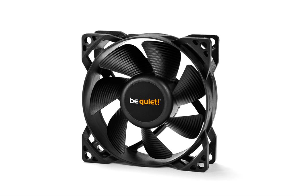 be quiet! Pure Wings 2 80mm fan, 18,2 dBA