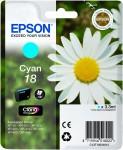 Inkoust Epson T1802 cyan   3,3 ml   XP-102/202/205/302/305/402/405/405WH