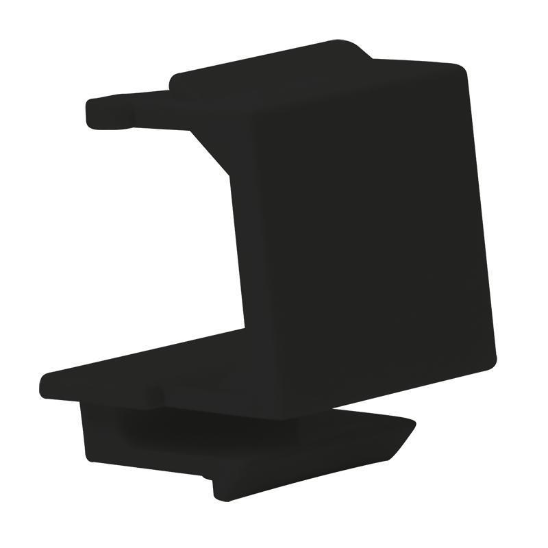 LOGILINK - Keystone Module Blank Cover, černý, 10 ks