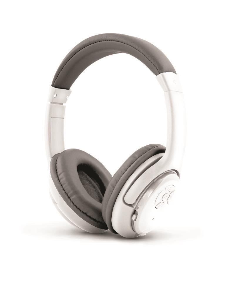 Esperanza EH163W LIBERO Bezdrátová Bluetooth 3.0 stereo sluchátka, bílá