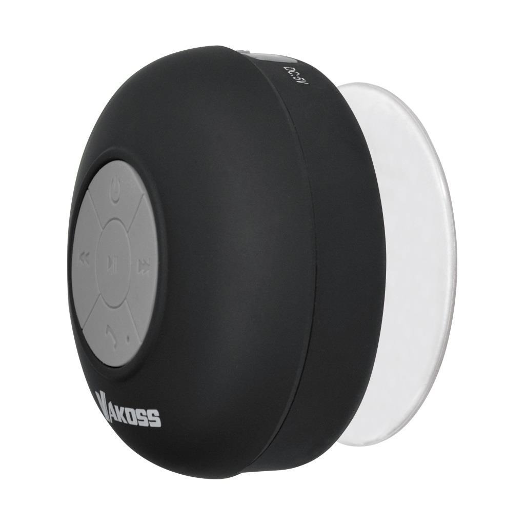 VAKOSS bezdrátový Bluetooth reproduktor s přísavkou SP-B1806K černý