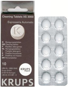 Coffee Machine Cleaning Tablets Krups