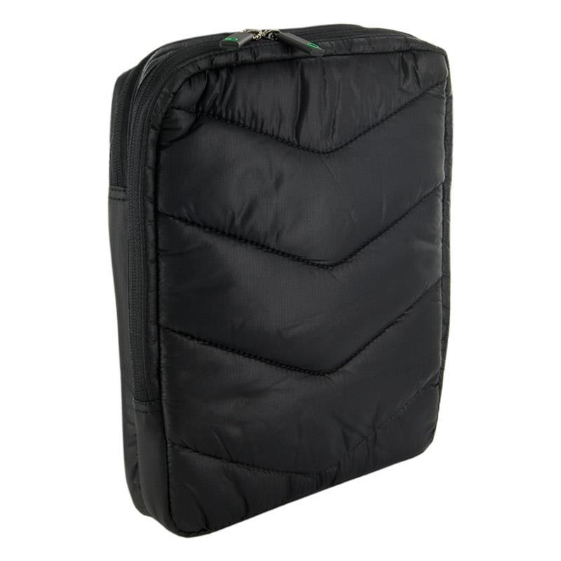 4World Taška s kapsami na tabletu 10.1'', barva černá a zelená