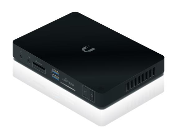 UniFi UVC-NVR, H.264, 500GB HDD, UVC 3.0.x pre-installed up to 50 cameras